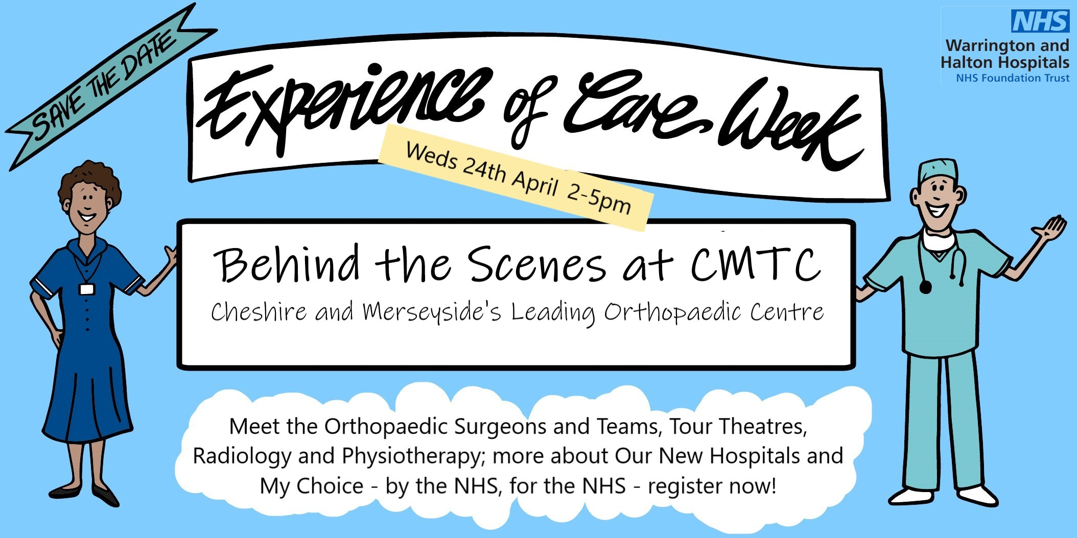 Behind the Scenes at CMTC - 24 April 2-5pm